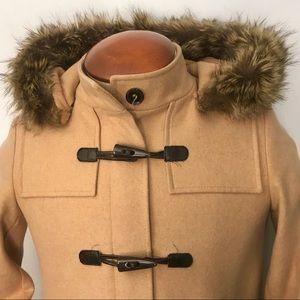 Tommy Hilfiger Women's Hooded Duffle Coat size 4